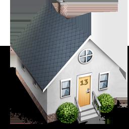 декупажные домики