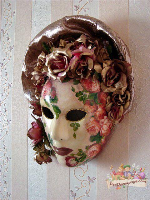 Идеи декора венецианских масок