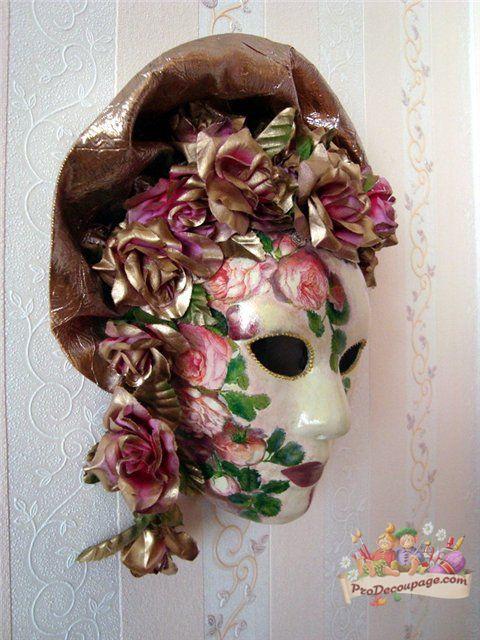 Мастер класс изготовления венецианской маски - Балакин Андрей В. Топтатель бабочек